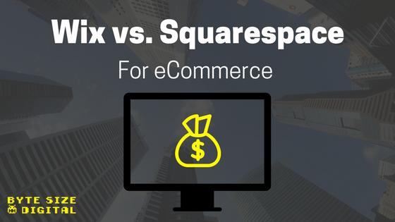 eCommerce Wars: Wix vs. Squarespace