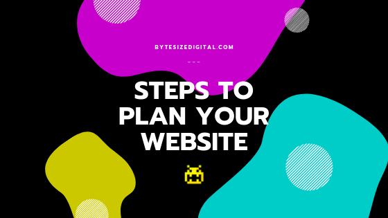Steps for Planning Your Website
